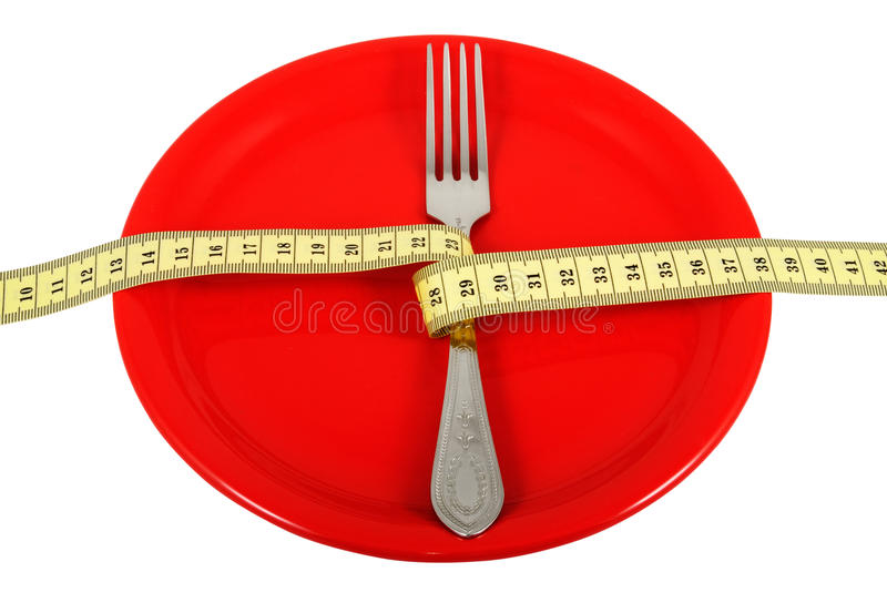 Rigorous Diet_2 royalty free stock photography