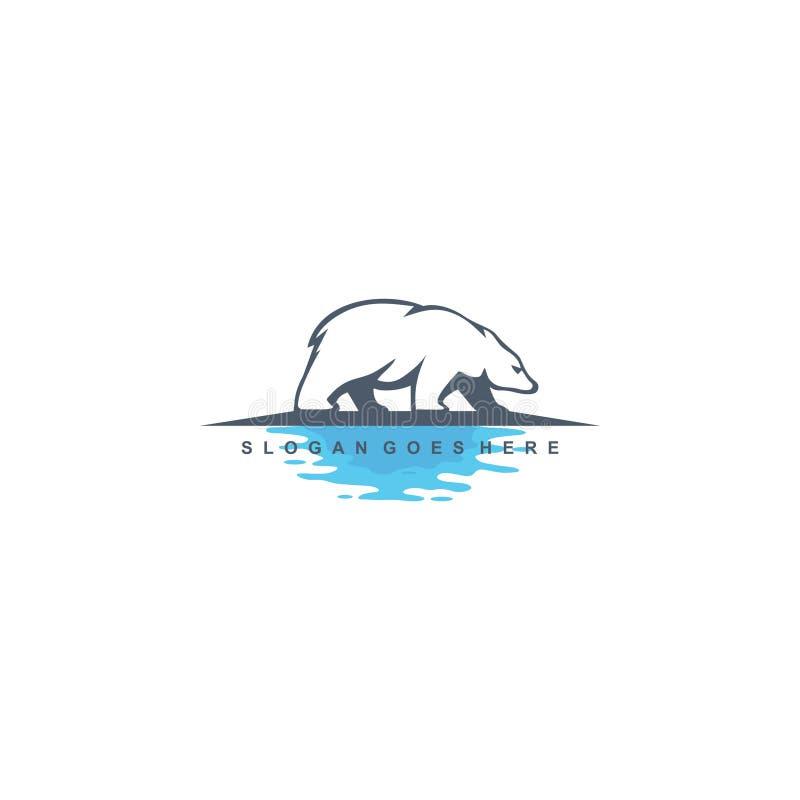 Riguardi il vettore di progettazione di logo dell'acqua royalty illustrazione gratis