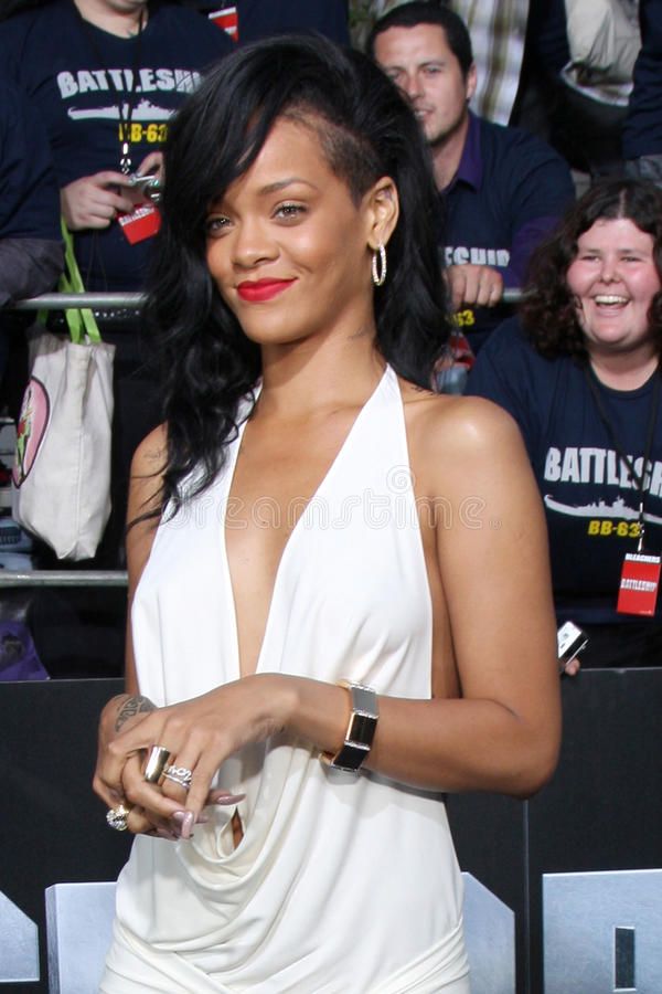 Rihanna royalty-vrije stock afbeelding