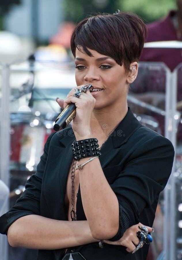 Rihanna royalty free stock photos