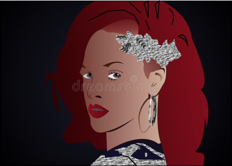 Rihanna royalty free stock images