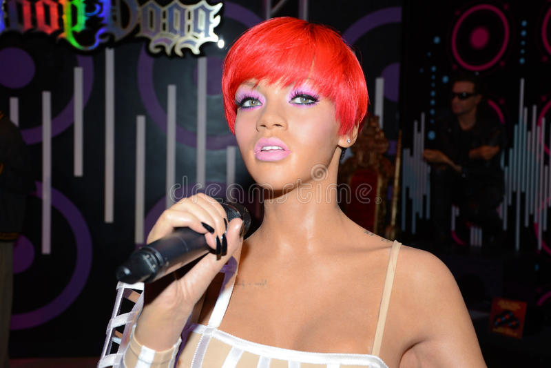 Rihanna royalty free stock image