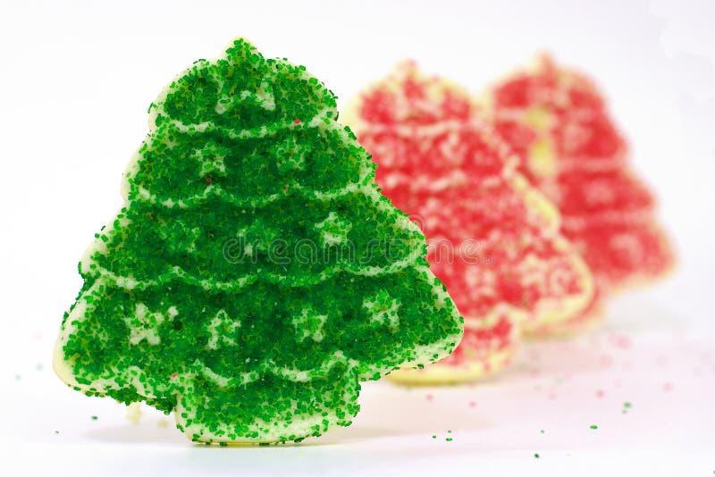 Rij 1 van het Koekje van Kerstmis stock afbeelding