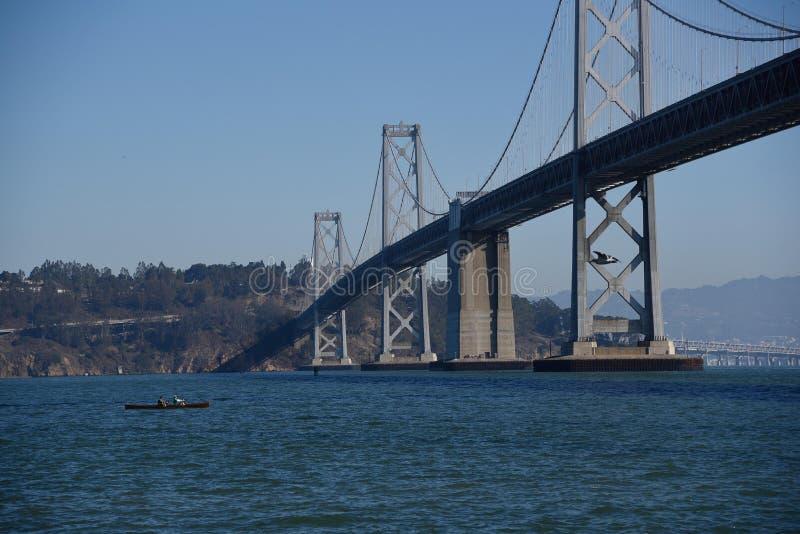 Rij-rij-mijn-boot die Mijn rit-San Francisco Landscapes is royalty-vrije stock afbeeldingen