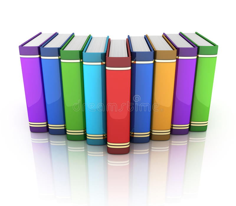 Rijboeken vector illustratie