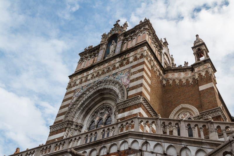 RIJEKA-Capuchinkirche in Rijeka stockbilder