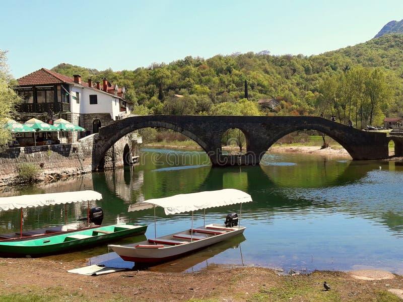 Rijeka Crnojevica fotografia stock