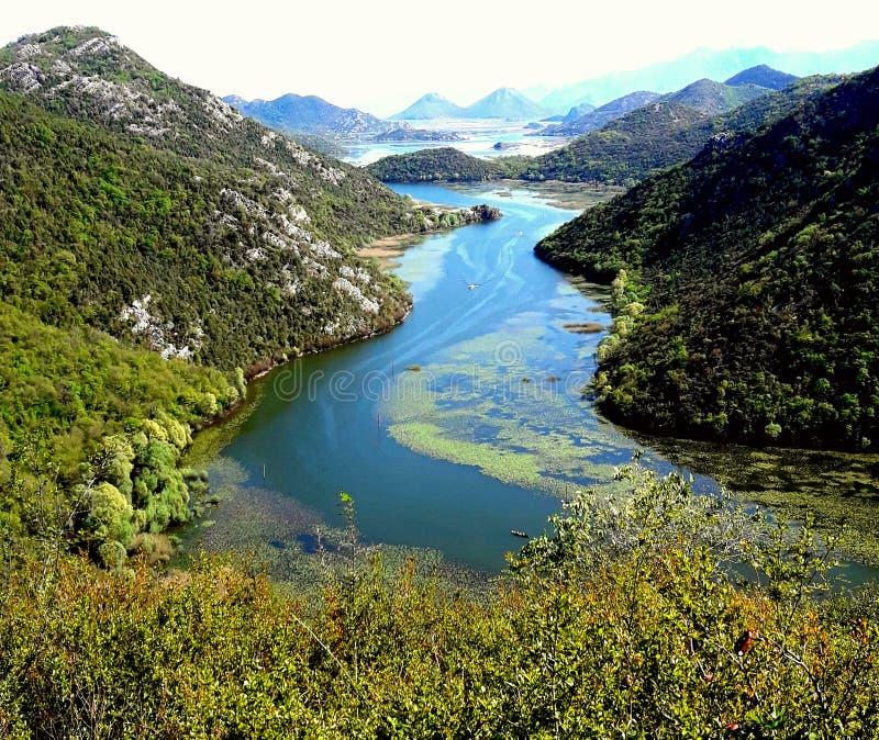 Rijeka Crnojevica immagini stock