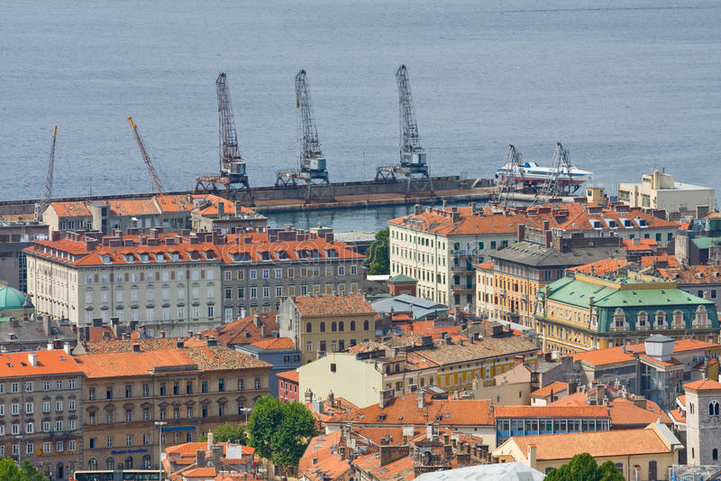 Rijeka, Croazia immagine stock libera da diritti