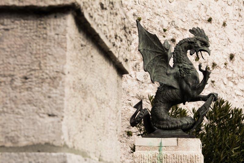 Rijeka Croazia fotografia stock libera da diritti