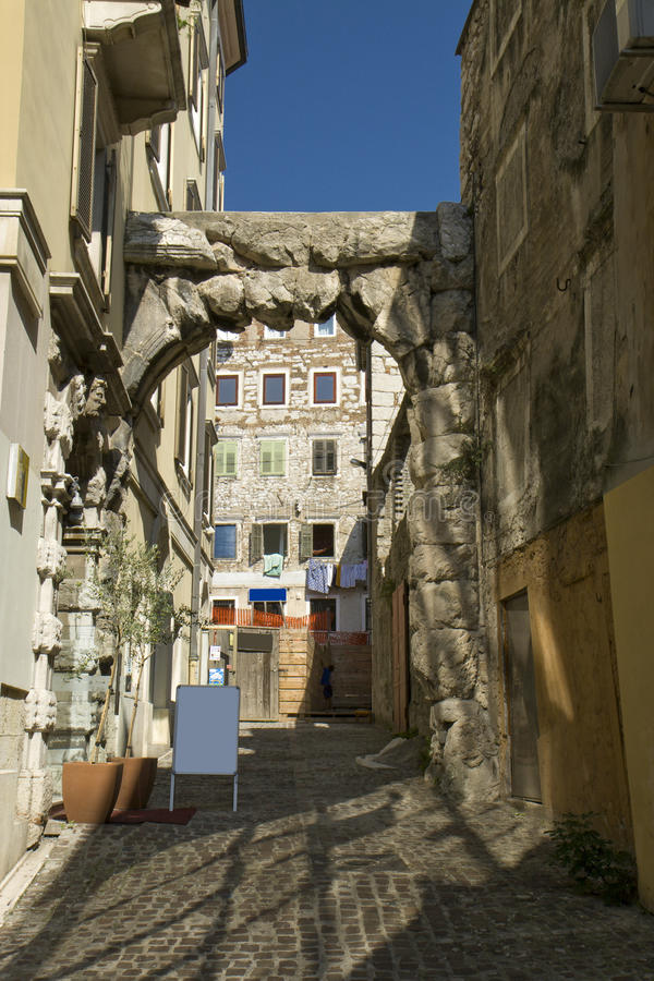 Rijeka, Kroatië royalty-vrije stock afbeelding