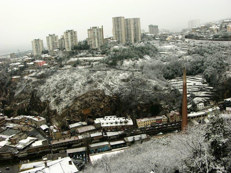 Rijeka panorama obraz stock