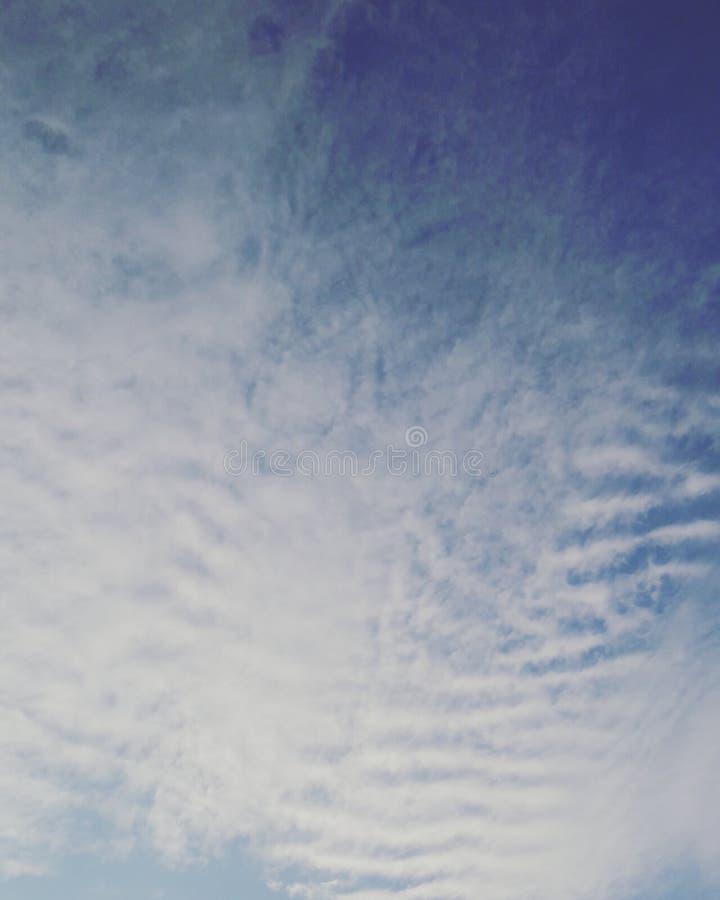 Rijen van Wolken royalty-vrije stock foto