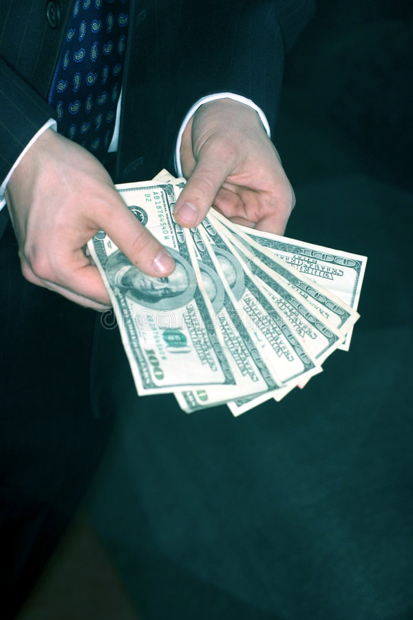 Rijk geld royalty-vrije stock foto