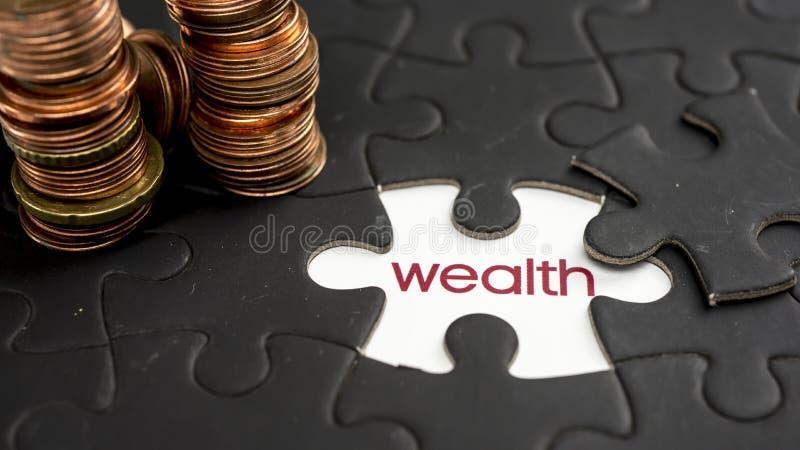 rijkdom stock foto