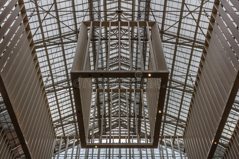Rijksmuseum入口天花板 图库摄影