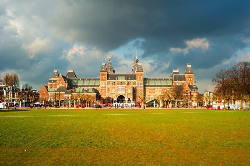 Rijksmuseum Amsterdam immagini stock libere da diritti