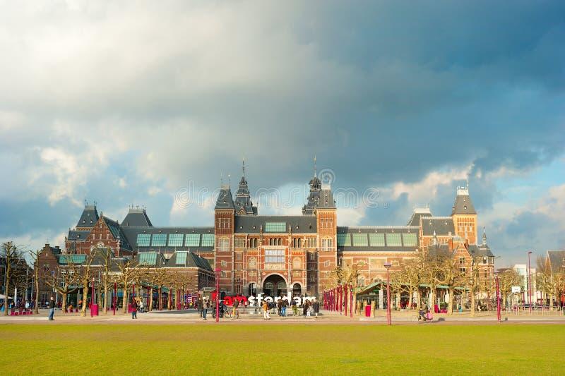 Rijksmuseum Amsterdam royalty-vrije stock afbeeldingen