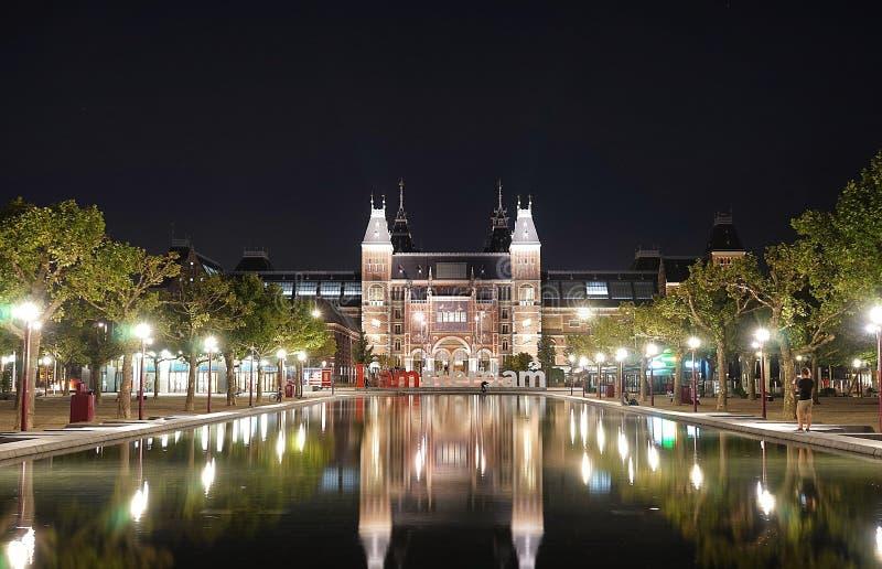 rijksmuseum amsterdam стоковые фотографии rf
