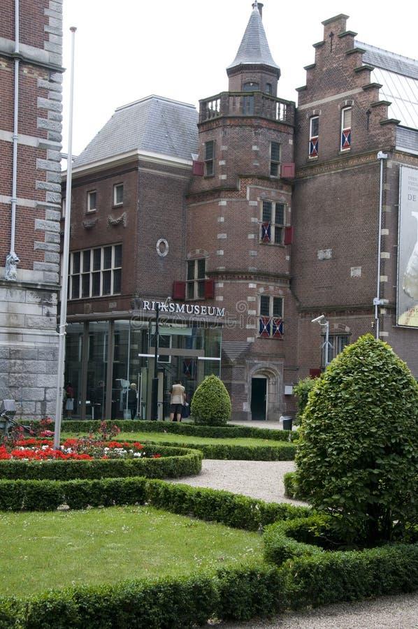 Rijksmuseum amsterdam holland royalty free stock photos