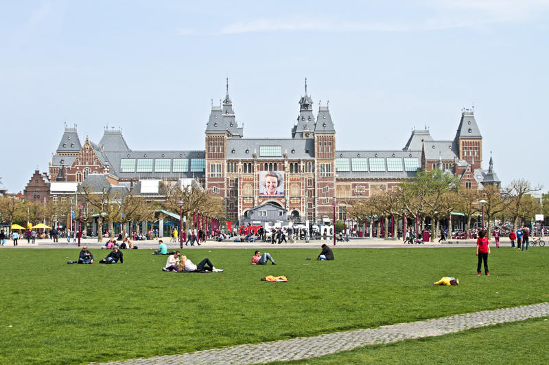 Download Rijksmuseum In Amsterdam The Netherlands Editorial Stock Image - Image: 25924899