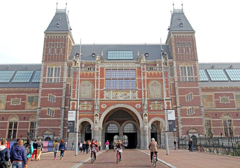 Rijksmuseum in Amsterdam, Netherlands stock image
