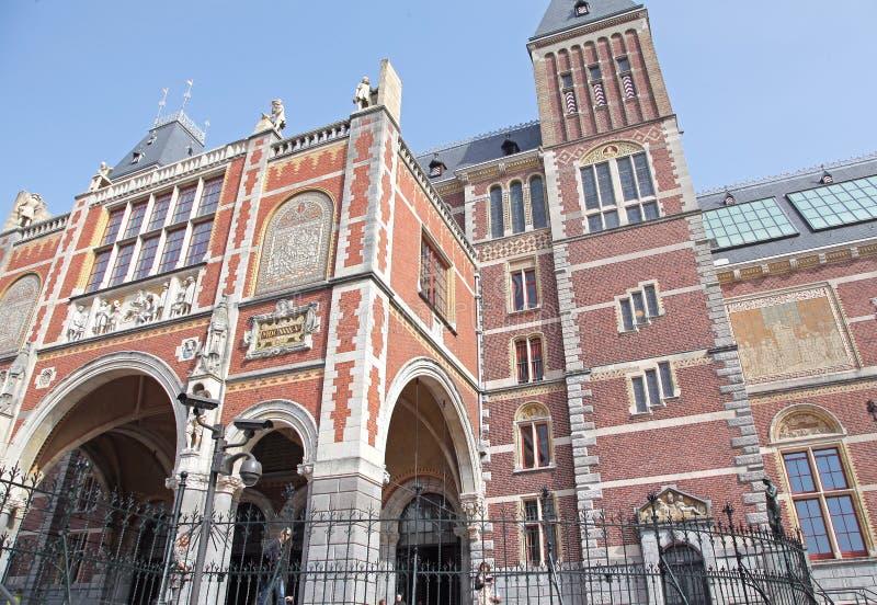 Rijksmuseum in Amsterdam, Netherlands royalty free stock image