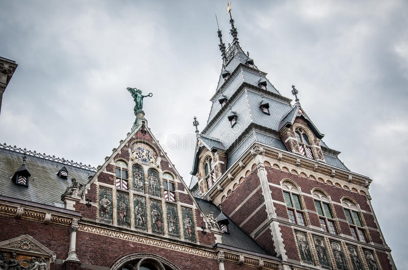 Download Rijksmuseum in Amsterdam stock image. Image of mosaic - 32846093