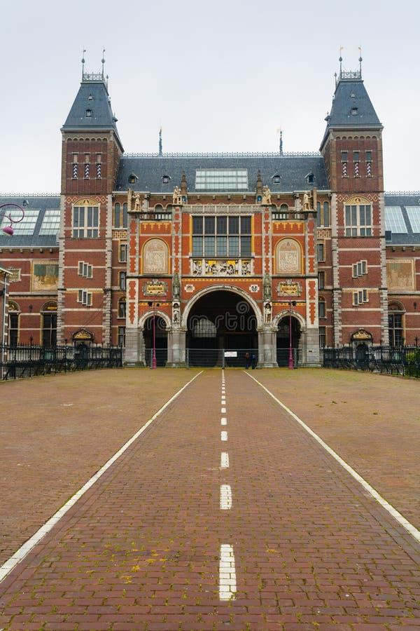Rijksmuseum-Fassade lizenzfreies stockbild