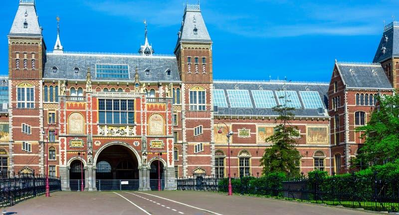 Rijksmuseum - Muzeum Narodowe, Amsterdam zdjęcie stock