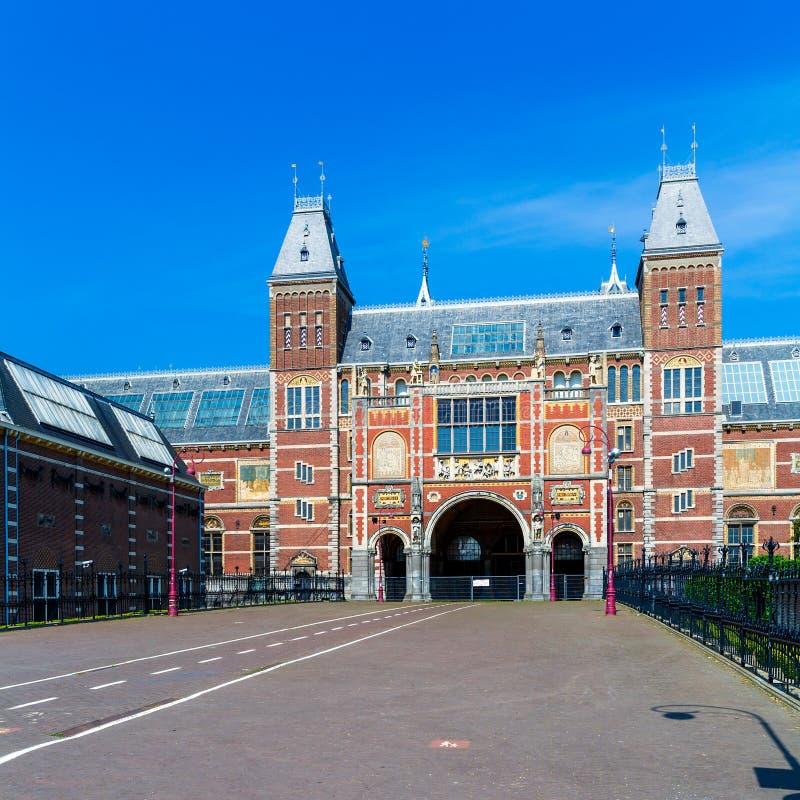 Rijksmuseum - nationellt museum, Amsterdam arkivfoto