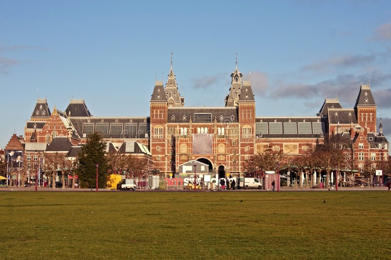 Rijksmuseum In The Netherlands Royalty Free Stock Photo