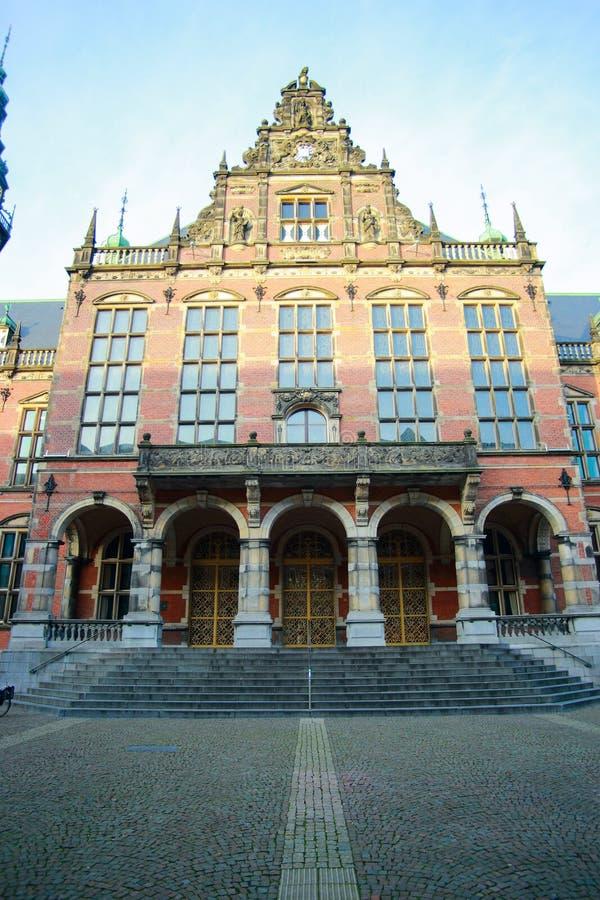 Rijksuniversiteit Groningen royalty-vrije stock afbeeldingen
