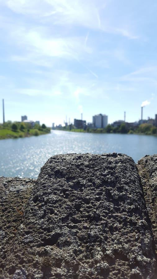 Rijn stock afbeelding