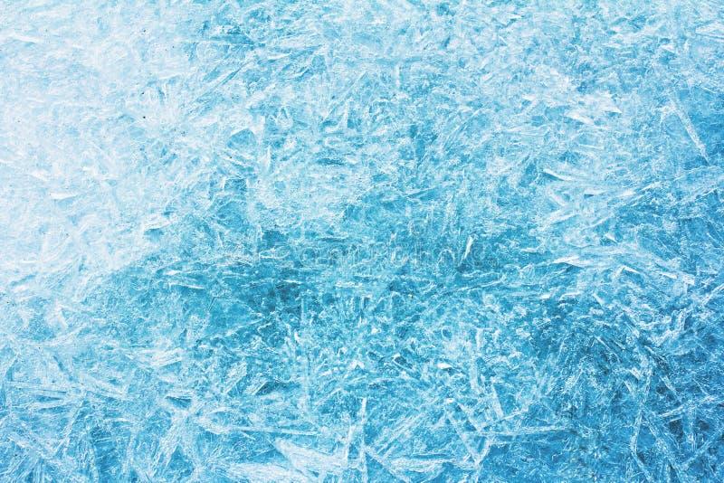 Rijp, vorst, ijstextuur stock fotografie