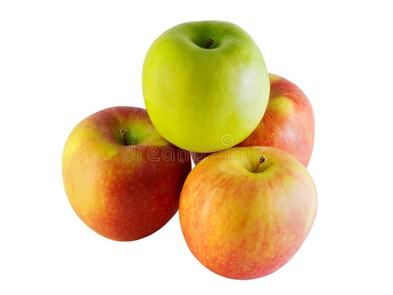 Rijpe appelen royalty-vrije stock afbeeldingen