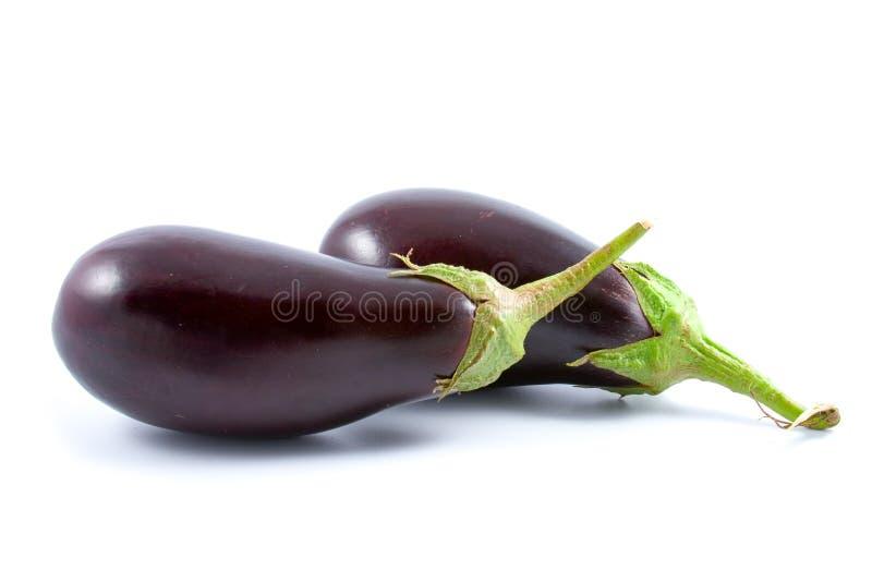 Rijpe aubergine royalty-vrije stock fotografie