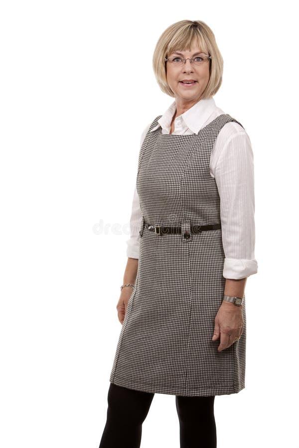 Download Rijpe blondevrouw stock foto. Afbeelding bestaande uit levensstijl - 29512550