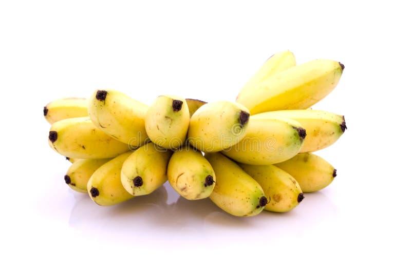 Rijpe gele banaan stock foto