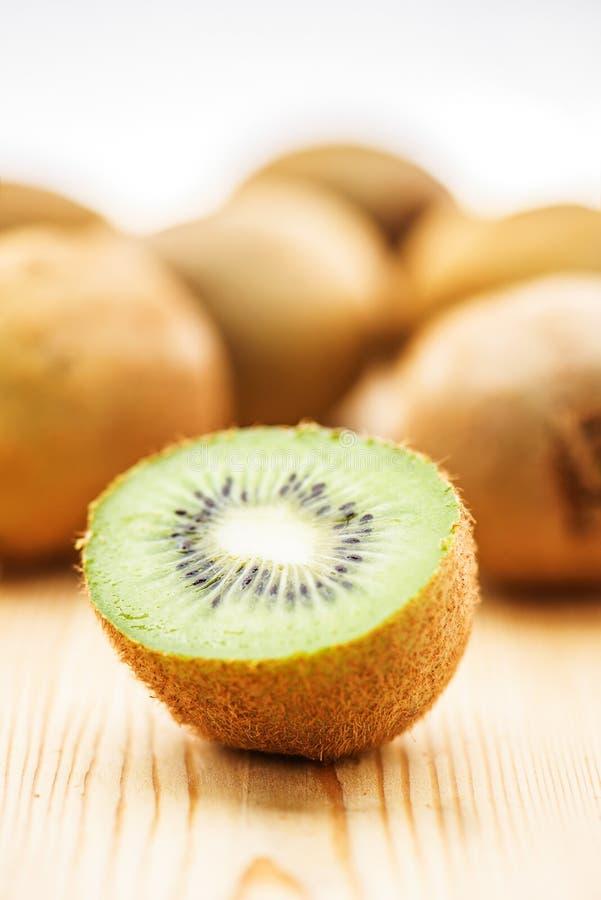 Rijpe kiwi royalty-vrije stock afbeelding