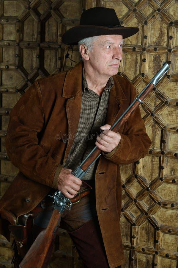 Rijpe mannelijke Bandiet stock foto