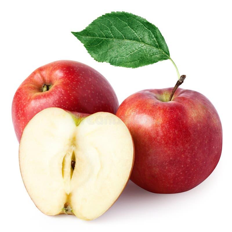 Rijpe rode appel royalty-vrije stock fotografie