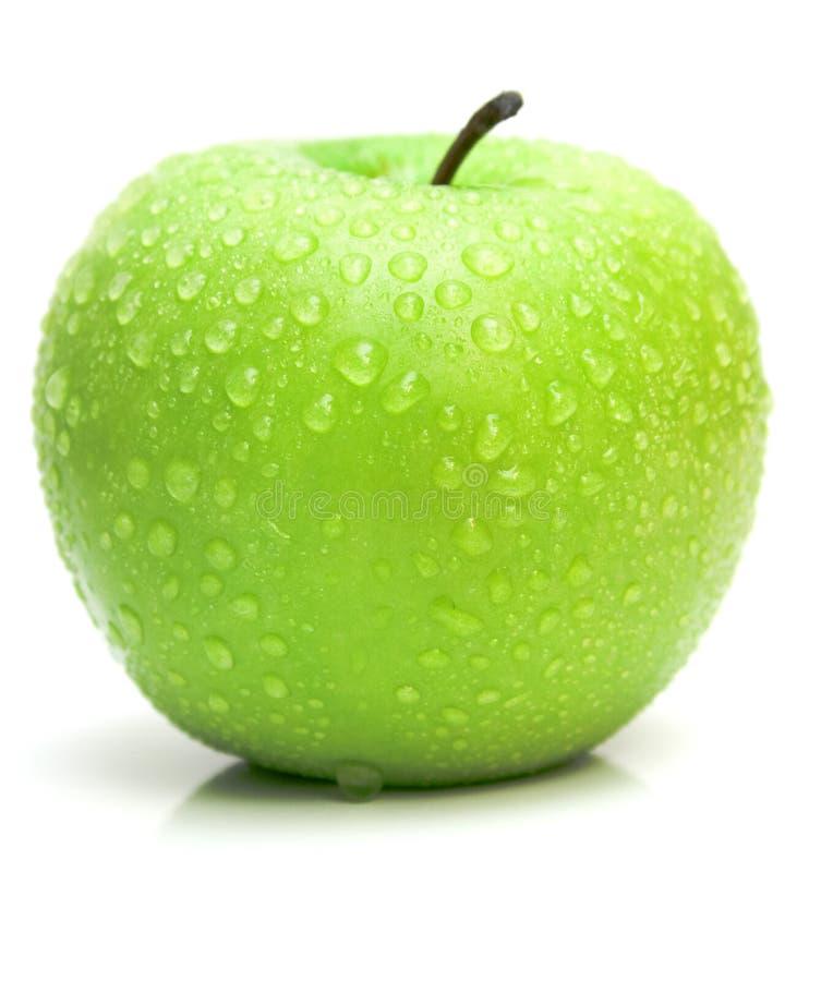 Rijpe sappige appel royalty-vrije stock afbeeldingen