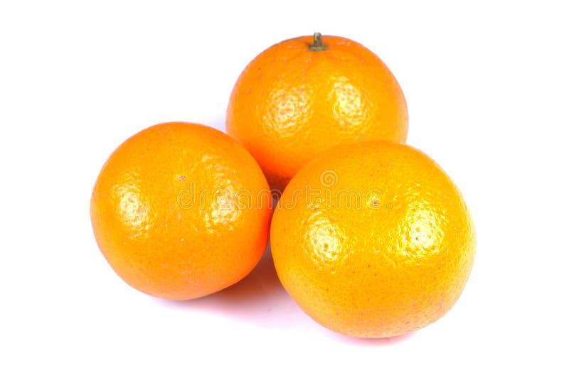 Rijpe sinaasappelen royalty-vrije stock foto's
