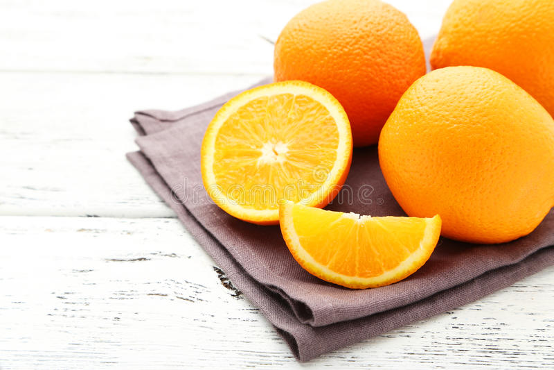 Rijpe sinaasappelen stock foto's