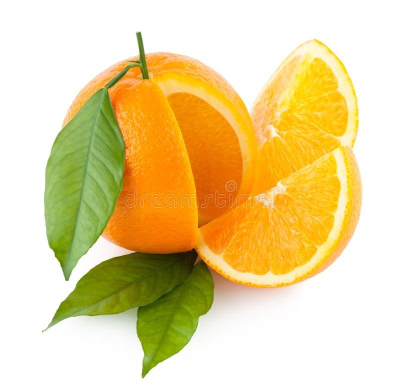 Rijpe sinaasappelen royalty-vrije stock afbeelding