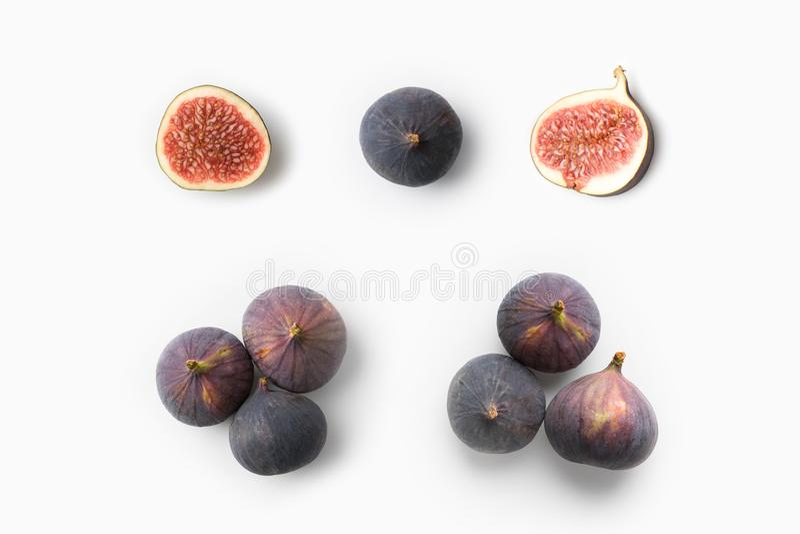 Rijpe Verse Fig royalty-vrije stock fotografie