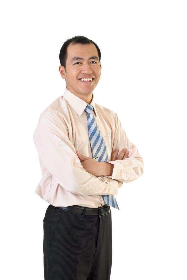 Rijpe zakenman stock foto