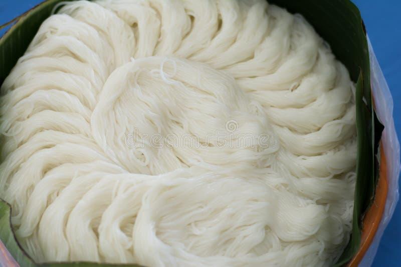Rijstvermicelli stock afbeeldingen