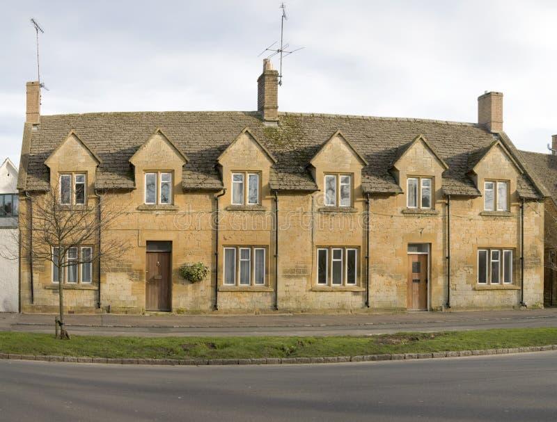 Rijtjeshuis stock foto